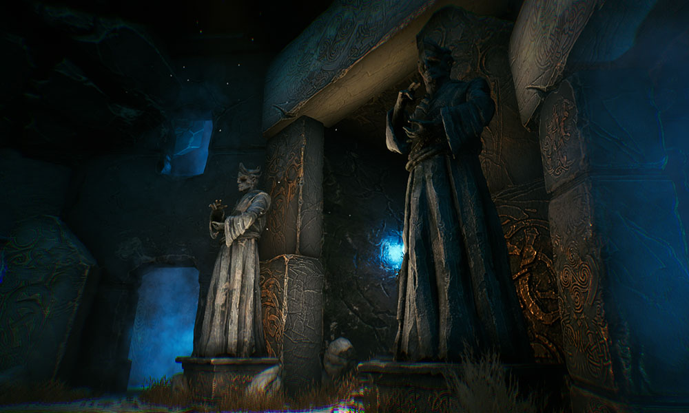 STATUES ARE IN THE GAME!